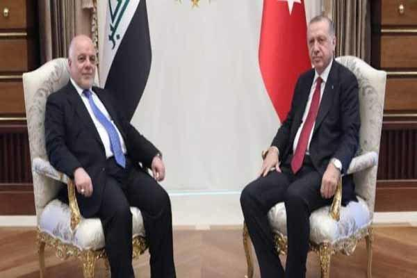 العبادی با اردوغان در آنکارا دیدار کرد