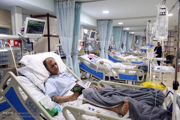یاری به بیماران نیازمند در بیمارستان تخصصی رضوی