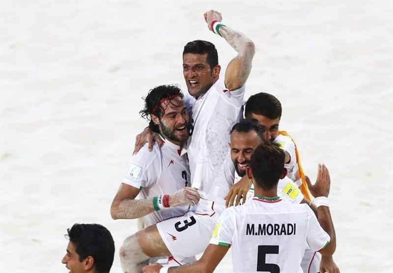 جام بین قاره ای فوتبال ساحلی، ایران تاهیتی را هم شکست داد، صعود ساحلی بازان به نیمه نهایی