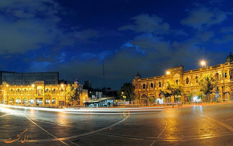 حسن آباد، میدانی به سبک اروپایی در تهران