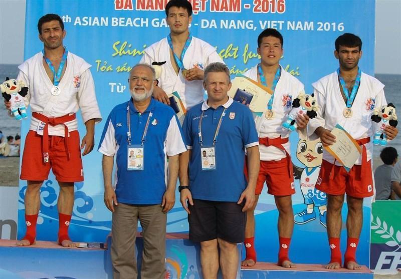 شهنازی: انتظارات ما در بازی های آسیایی ساحلی ویتنام برآورده شد