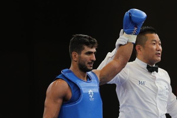 محسن محمد سیفی در مسابقات آسیایی جاکارتا هتریک کرد