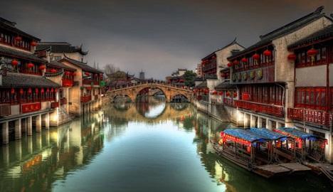 شهر قدیمی ژوجیاجیائو، ونیز شانگهای