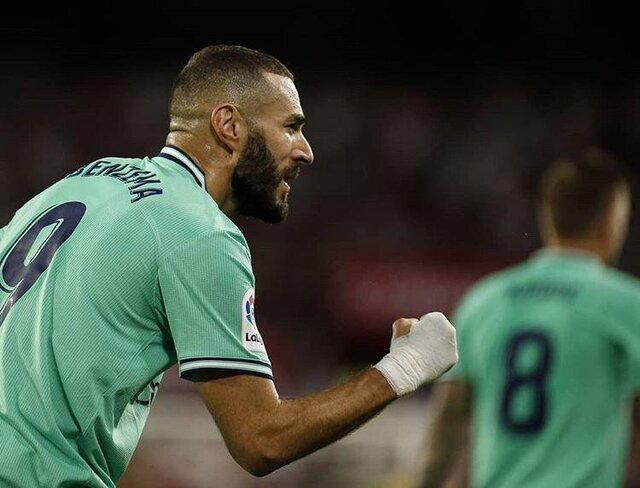 پیروزی رئال مادرید به لطف گل بنزما، اتلتیک صدرنشین لالیگا شد