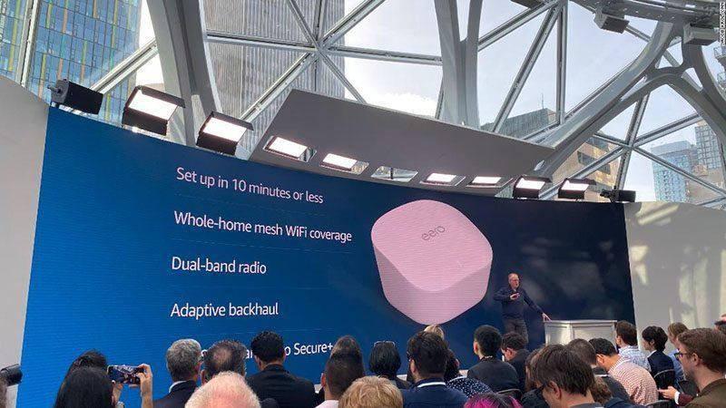 آمازون روتر مش وای فای دوبانده ای معرفی کرد که با دستورات صوتی کنترل می گردد