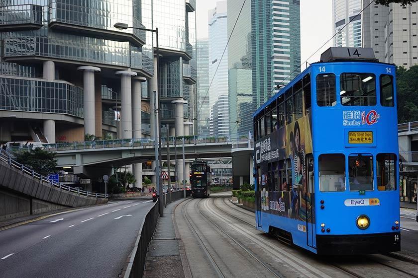 حمل و نقل عمومی در هنگ کنگ