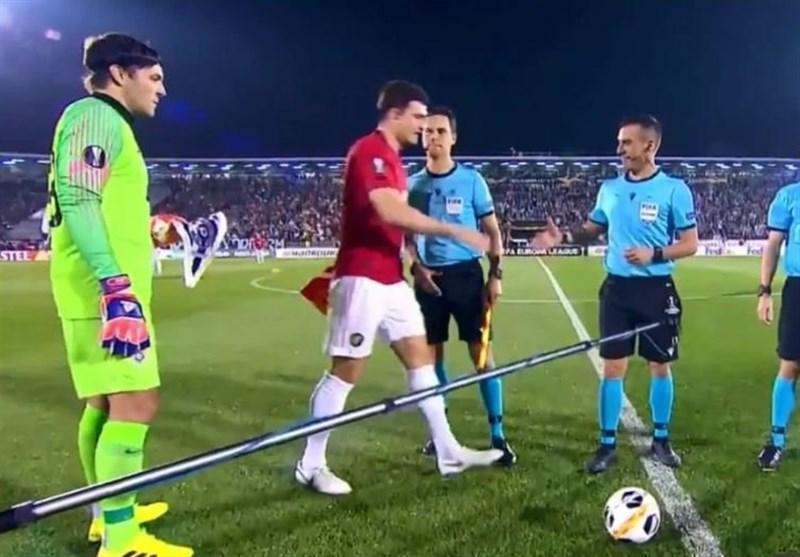 اتفاق جالب در لیگ اروپا؛ وقتی مگوایر یادش رفت کاپیتان منچستریونایتد است