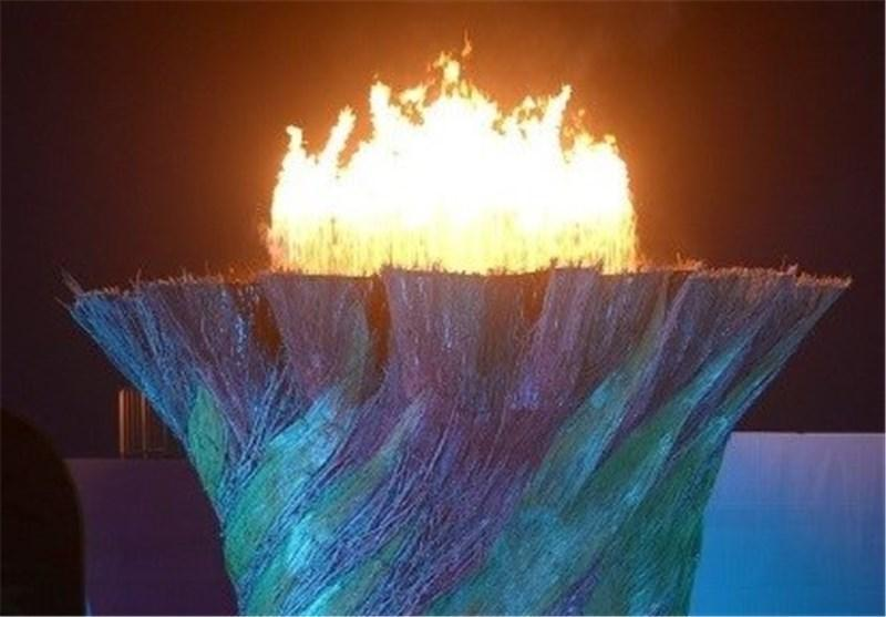 مشعل المپیک کارگری 2015 ایتالیا وارد قم می گردد