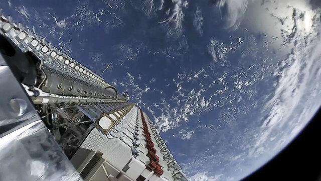 ماهواره استارلینک از اواسط 2020 اینترنت رسانی می کند