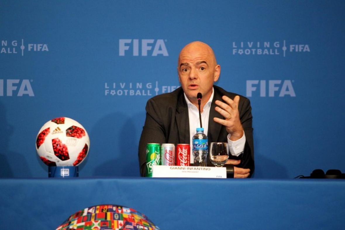 اینفانتینو: نسبت به 48 تیمی شدن جام جهانی خوش بین هستم ، واکنش رئیس فیفا به اختلافات قطر و عربستان