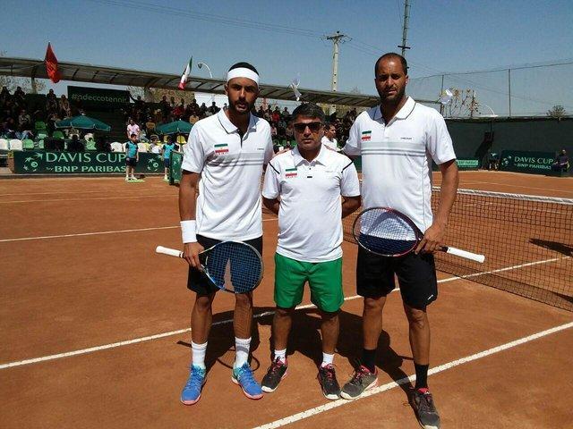 تیم ملی تنیس ایران در گروه 2 آسیا باقی ماند