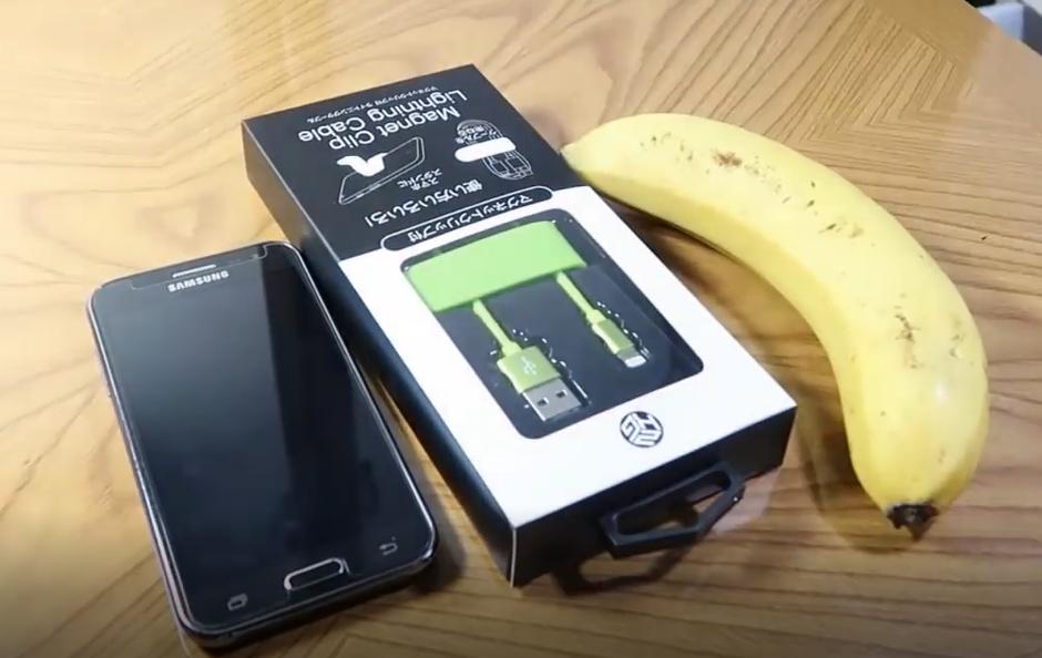 چگونه با استفاده از یک موز گوشی خود را شارژ کنیم؟
