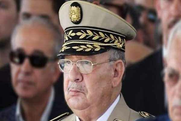 رئیس ستاد مشترک ارتش الجزایر، مداخله گران را تهدید کرد
