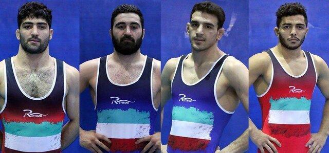 یک طلا، یک نقره و 2 برنز آزادکاران ایران در قهرمانی آسیا