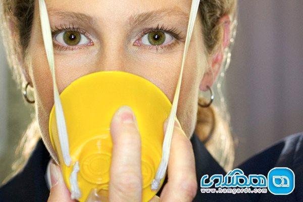 آشنایی با کاربرد ماسک اکسیژن در هواپیما
