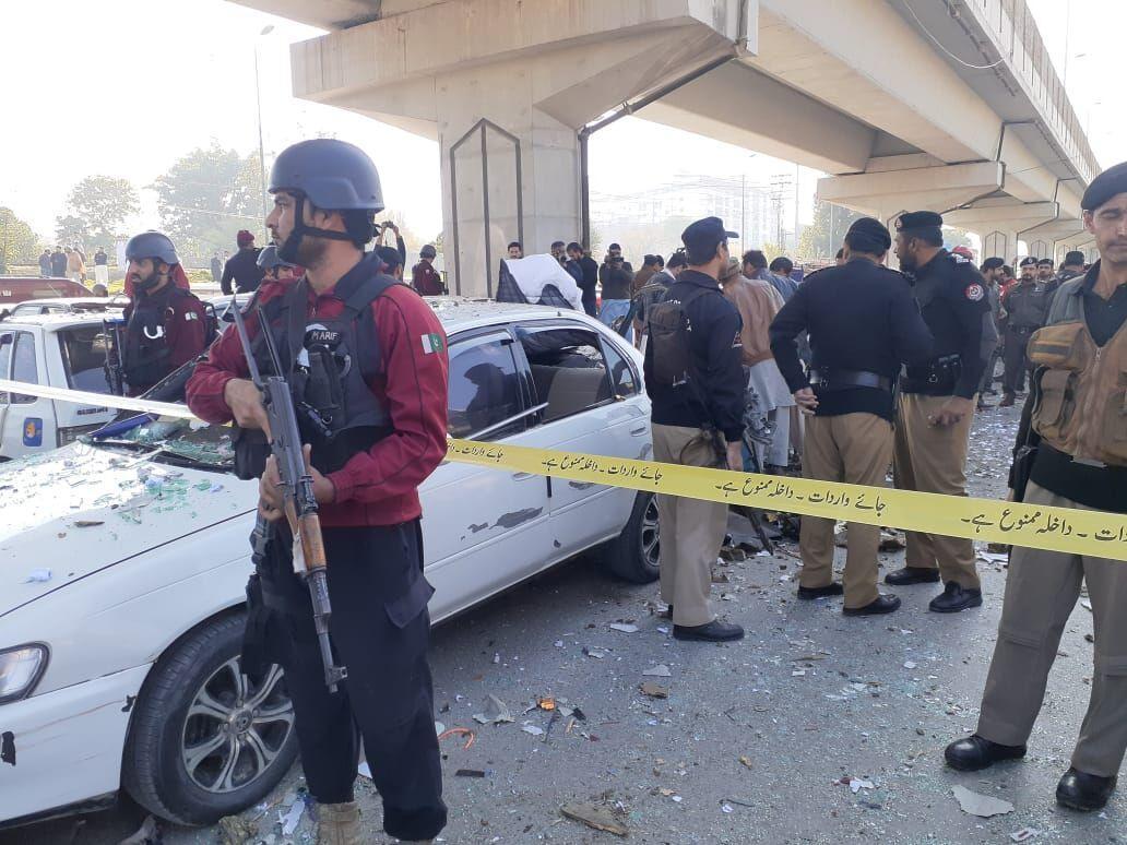 5 زخمی درانفجار پیشاور پاکستان