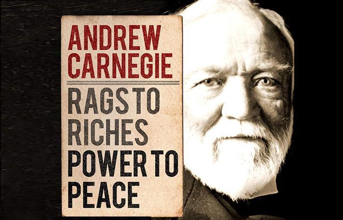 اندرو کارنگی، مهاجر ثروتمند