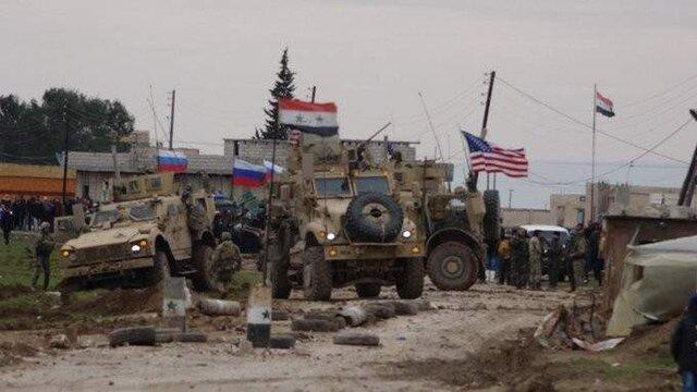زخمی شدن سربازان آمریکایی در حادثه ای با نیروهای روسیه در سوریه