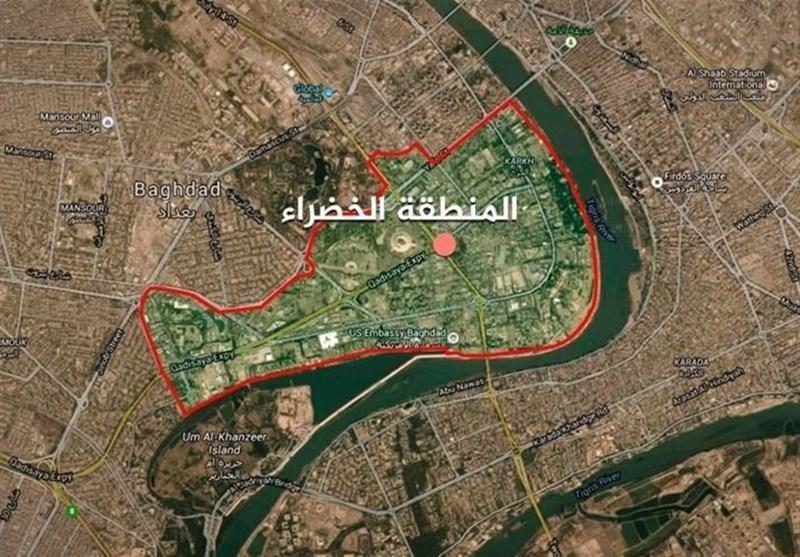 حمله راکتی به اطراف سفارت آمریکا در بغداد