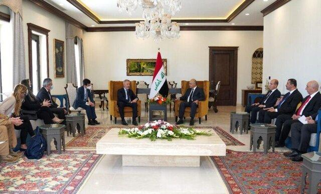 مخالفت برهم صالح با تبدیل شدن خاک عراق به میدان تسویه حساب های دیگران