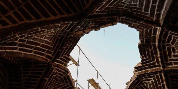 به نیمه رسیدن بازسازی ساباط تاریخی عبید زاکانی قزوین