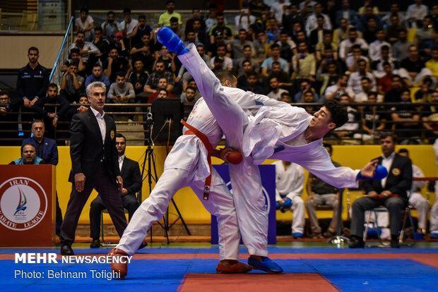 اعلام آمادگی 60 تیم برای حضور در لیگ های کاراته کشور