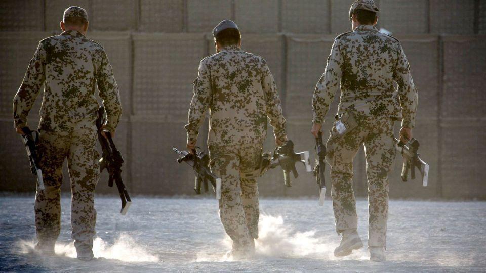 نظامیان آلمانی قندوز افغانستان را ترک می نمایند