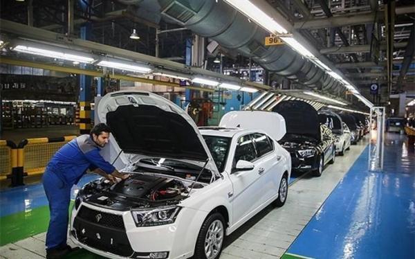 تولید بیش از 653 هزار دستگاه خودرو توسط خودروسازان بزرگ داخلی