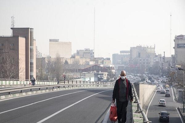 هوای تهران برای گروههای حساس جامعه ناسالم شد