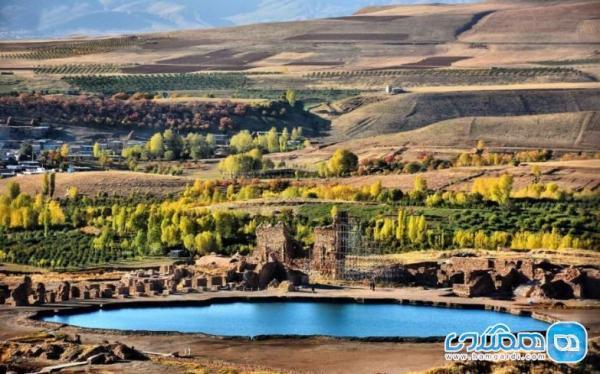 تخت سلیمان آذربایجان غربی؛ آتشکده زرتشتیان در ایران باستان