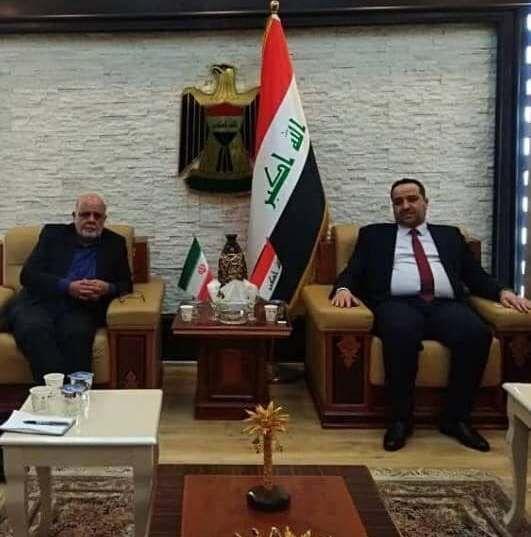 خبرنگاران ملاقات سفیر جمهوری اسلامی ایران با وزیر تجارت عراق