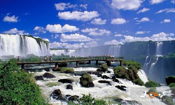 آبشار ایگواسو؛ آبشاری خارق العاده بین دو کشور آرژانتین و برزیل، عکس