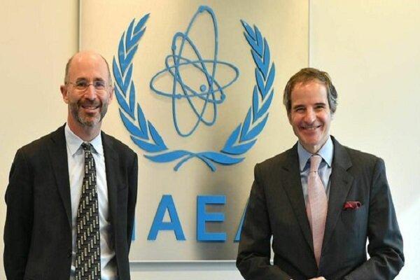ملاقات نماینده آمریکا در امور ایران با رافائل گروسی