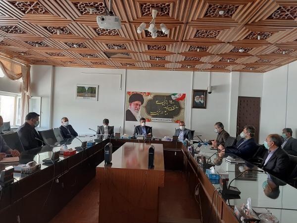 جلسه گذر از پیک بار تابستان در شرکت برق منطقه ای کرمان برگزار گشت