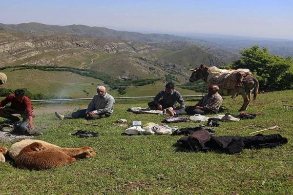 کوچ عشایر قره داغ در ارسباران (عکس)