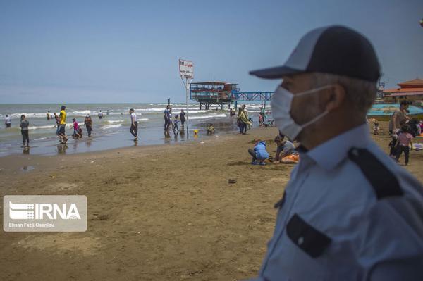 استقرار 600 ناجی در سواحل مازندران برای جلوگیری از شنا