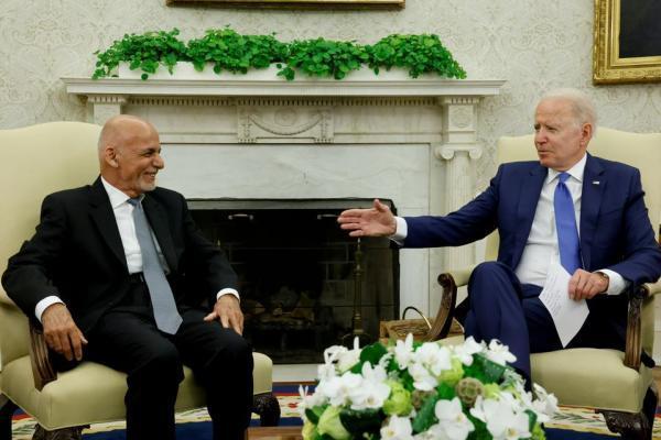 اشرف غنی: با تصمیم بایدن فصل جدیدی در روابط با آمریکا گگردده می گردد