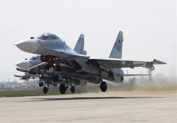 رهگیری هواپیمای شناسایی آمریکایی از طریق جنگنده های روسیه