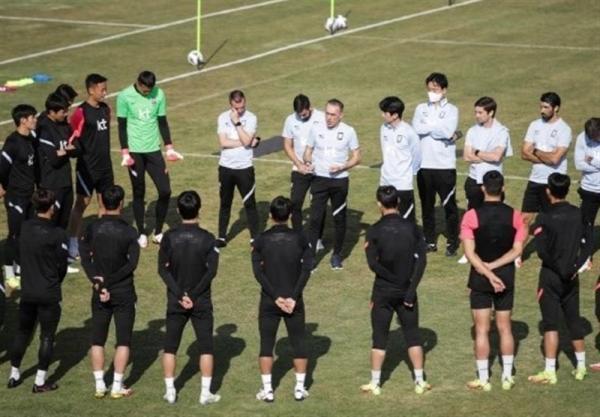 طراحی سایت: تست کرونای اعضای تیم ملی کره جنوبی منفی شد، گزارش سایت کره ای از شرایط تمرینی شاگردان بنتو